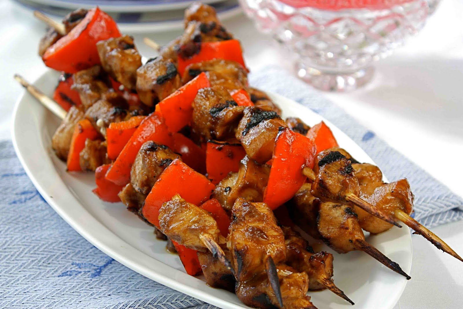 Chicken Kebabs with Pomegranate-Spice Marinade Recipe - Cookin Canuck