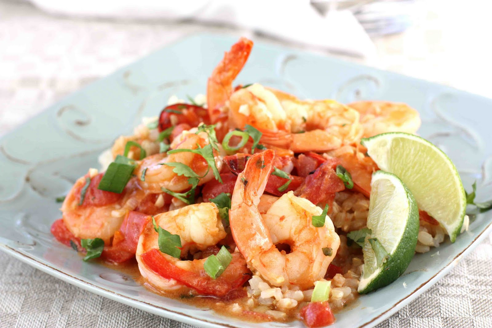 Pam Anderson's Spicy Coconut Shrimp Stew