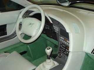 Callaway Speedster Corvette Interior
