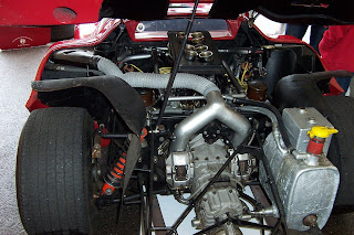 Motor Alfa Romeo 33 Stradale