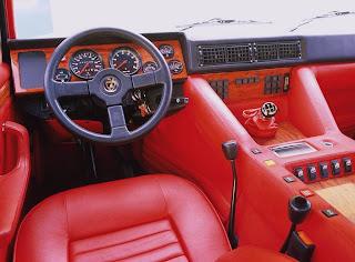 Lamborghini LM 002 Interior