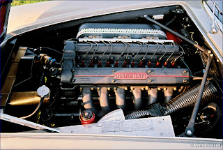 Motor de un 3500 GT Spider
