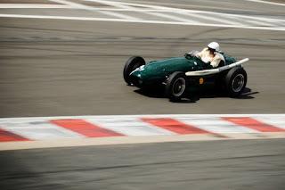 Autos clasicos de carreras