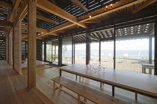 interior de casa de diseo minimalista en japn