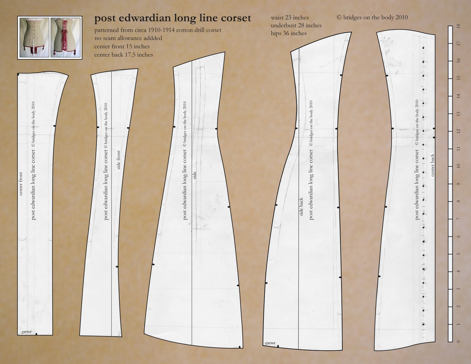 Bridges on the body titanic era corset and pattern this pattern will fit on an 8 12 x 11 piece of paper and is a high enough resolution that it should enlarge well without pixelling up if you do sew a jeuxipadfo Gallery