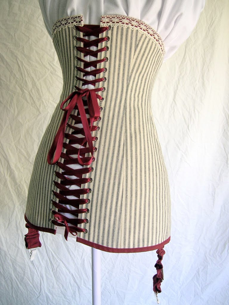Bridges on the body titanic era corset and pattern i started with an old corset in terrible condition found on ebay and after drafting a pattern from it this is what i came up with jeuxipadfo Gallery