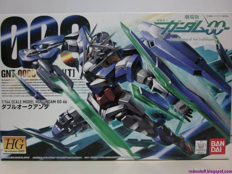 Random Stuff from the East: HG 1/144 00 Qan[T] Review - Part 1