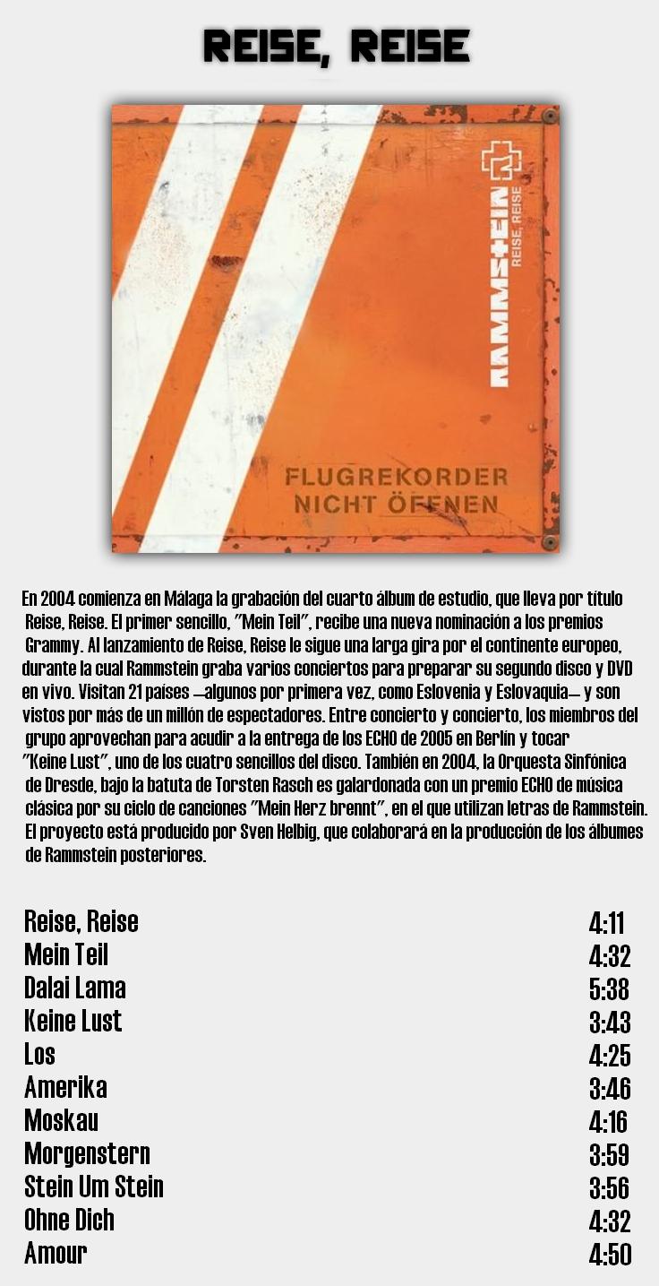 Rammstein - Discografia de estudio completa en calidad 320Kbps [MU] 6