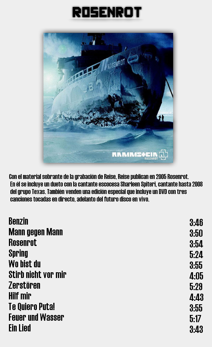 Rammstein - Discografia de estudio completa en calidad 320Kbps [MU] 7