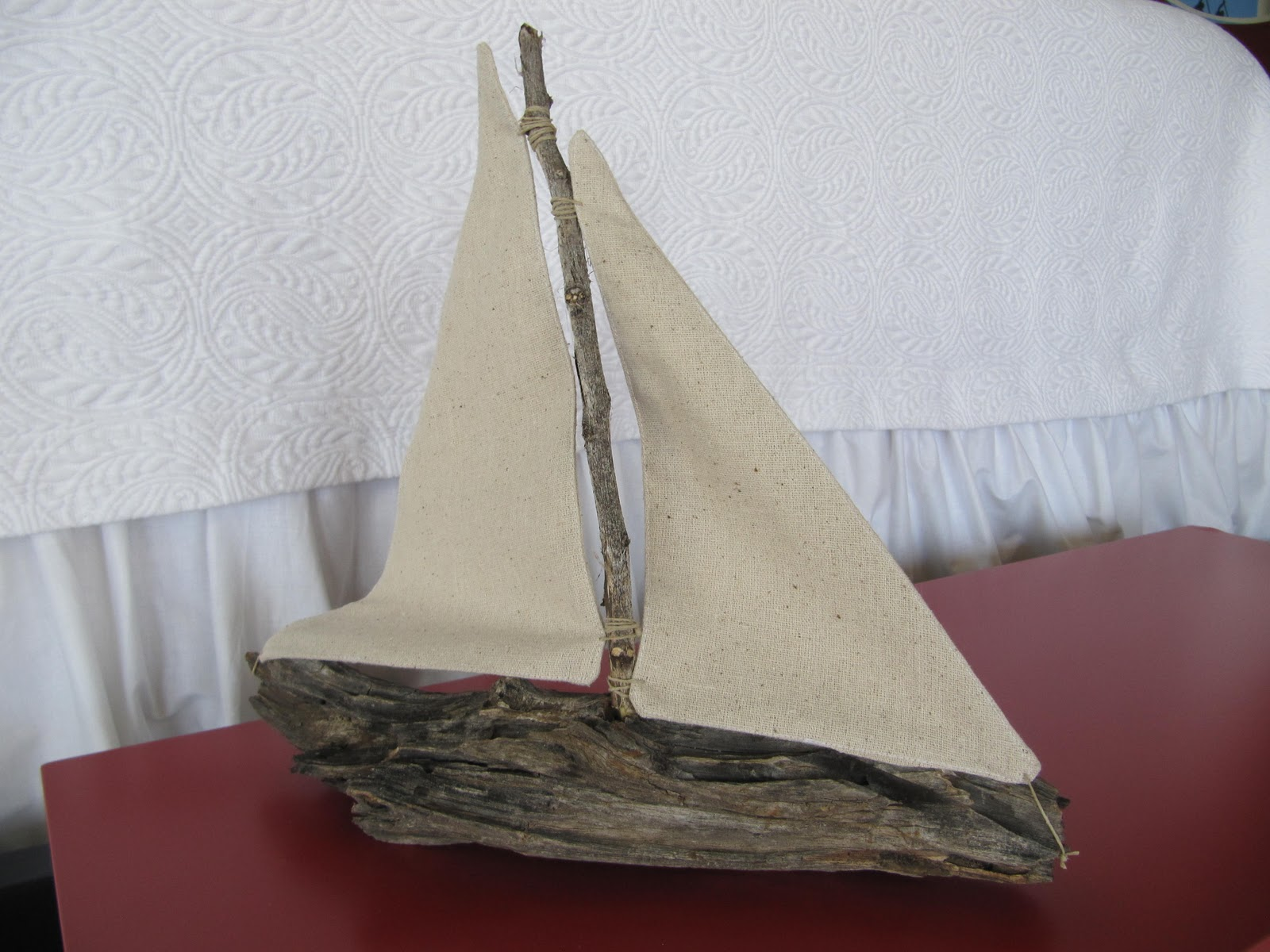 Laurie 39 s projects driftwood sailboat tutorial for Diy driftwood sailboat