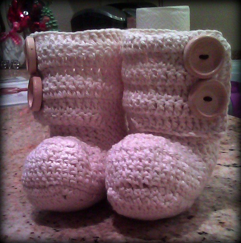 Cozy Slippers Crochet Boots - Knitting Patterns and Crochet