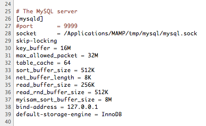 Miraculous Mamp Mamp Pro How To Set The Mysql Default Storage Engine Download Free Architecture Designs Ogrambritishbridgeorg