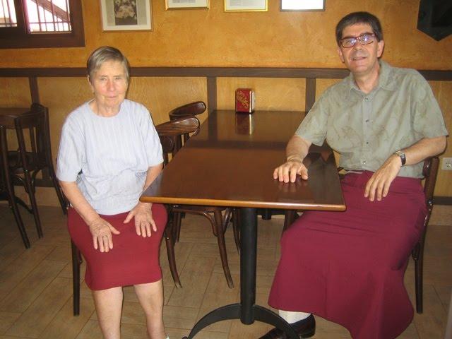 Antonio met zijn madre mama