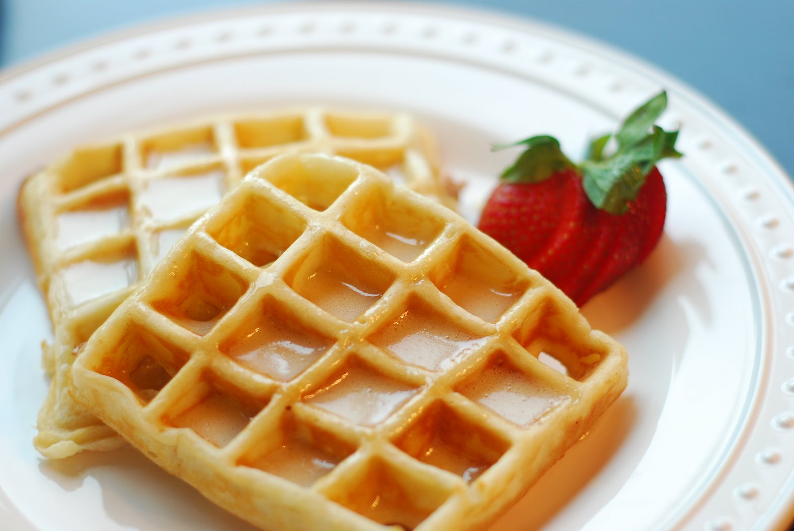 ... to find the perfect homemade waffles and i have finally found them for