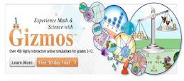 GIZMOS para desarrollar destrzas matemáticas