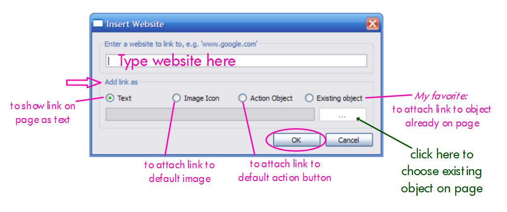 how to add a html link to your website