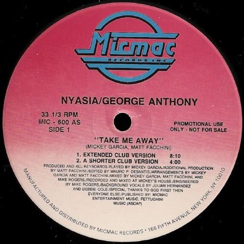 Nyasia / George Anthony - Take Me Away
