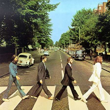 Album Cover for the Beatles Abbey Road