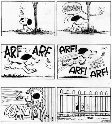 Snoopy vs. A Leaf