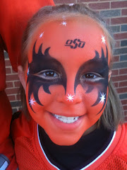 I Think Grandaughter Kaitlyn is an Oklahoma State Fan!