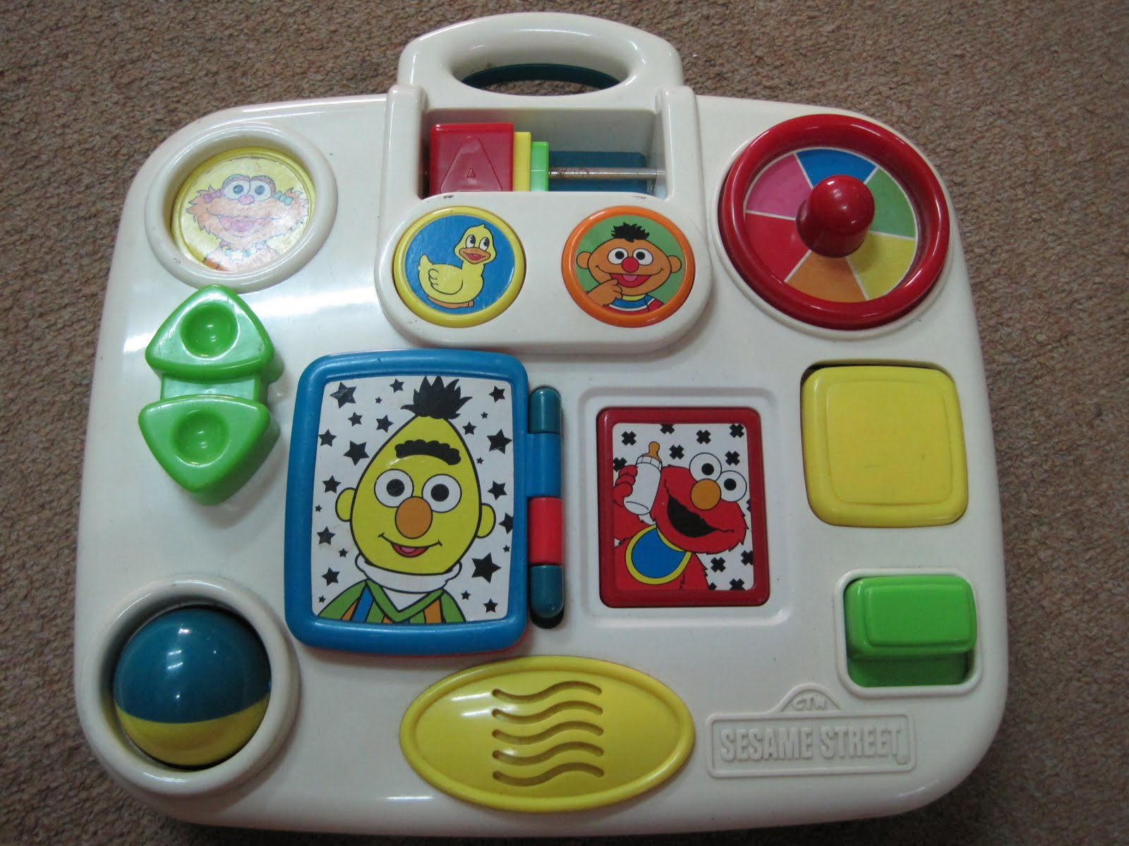 Baby Blogs Tyco Sesame Street Crib Board