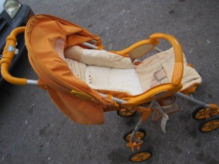 Combi Trifold Orange Stroller   Girls Fashion Alright