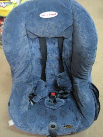 Britax Safe N Sound Royale Car Seat Girls Fashion Alright