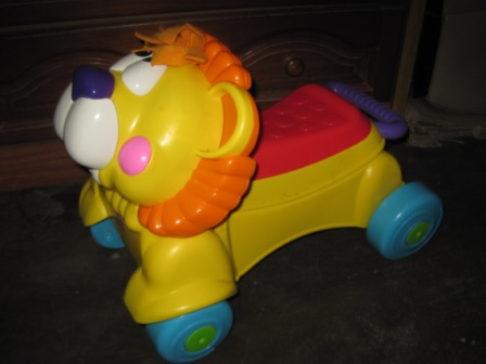Fisher Price Stride To Ride Lion My Baby