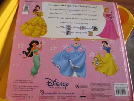 Disney Princess Musical Big Book My Baby