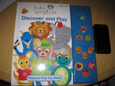 Big Book Baby Einstein Discover N Play My Baby Stuff