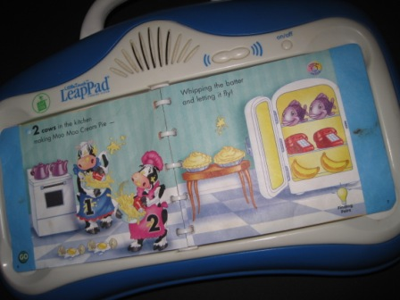Leappad Little Touch Blue With 1 Book My Baby Stuff