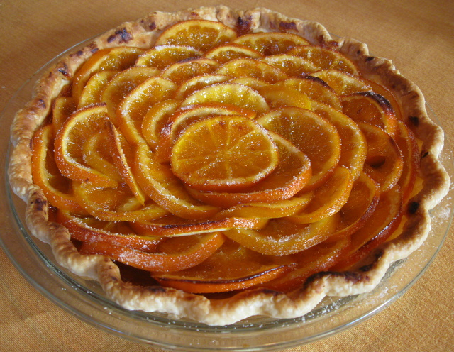 Veggie Obsession: Valencian Orange Tart