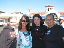 Sarah, Kim, Me and Gloria in Catalina