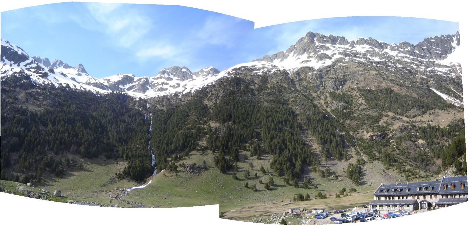 Turismo en graus la ribagorza el valle del sera - Spa llanos del hospital ...