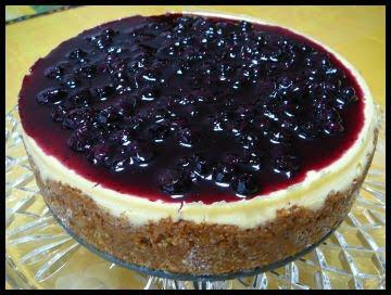 Holy Cannoli Recipes White Chocolate Blueberry Cheesecake