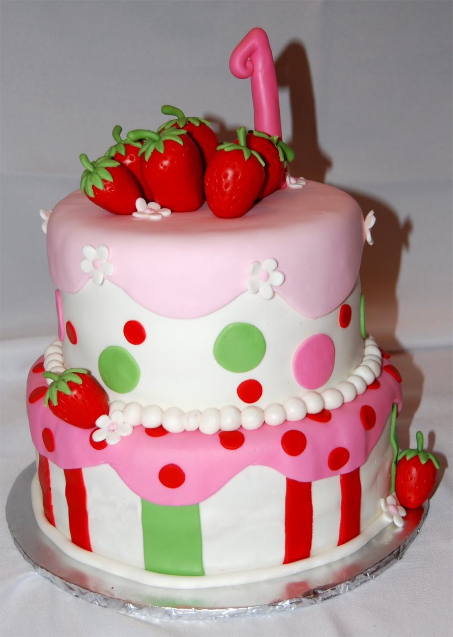 Leelees Cake-abilities: Strawberry Shortcake Cake
