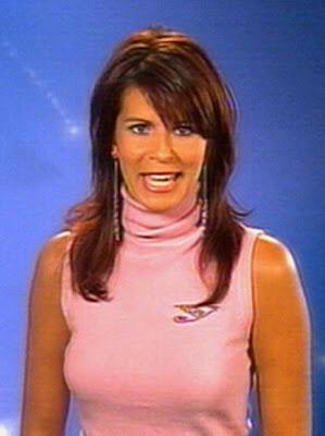 Één omroepster katja retsin op vrt1 28 12 2004