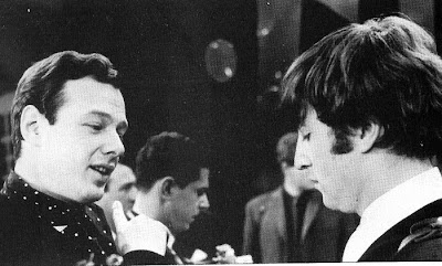 John Lennon and Brian Epstein