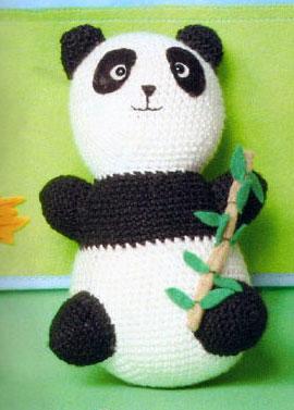 Amigurumis en espanol: Oso Panda