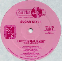Sugar Style - 909 - The Beat Is Mine 12'' (On The Spot 1985)