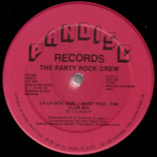 The Party Rock Crew - La La Ooh (Girl I Want You)(Vinyl, 12'' 1988)(Pandisc)