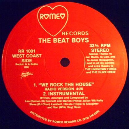 The Beat Boys – We Rock The House  (1985)[INFO]