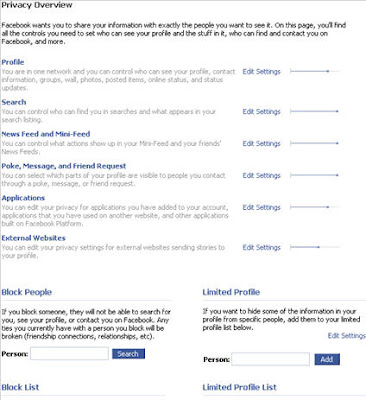 Internet: Facebook