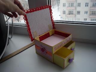 Коробочки выдвижные из бумаги