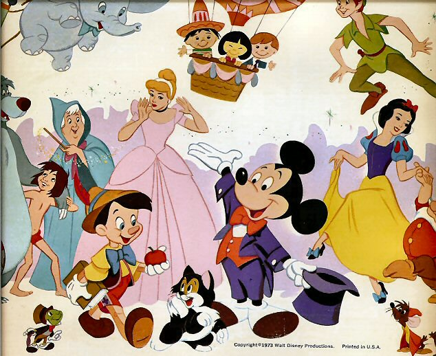 walt disney cartoon characters