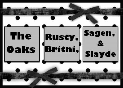 Sagen and Slayde's blog