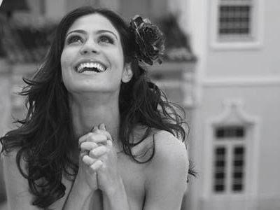 Carol Castro em foto da Playboy