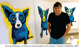 Blue Dog - George Rodrigue 2007
