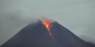 Merapi erution