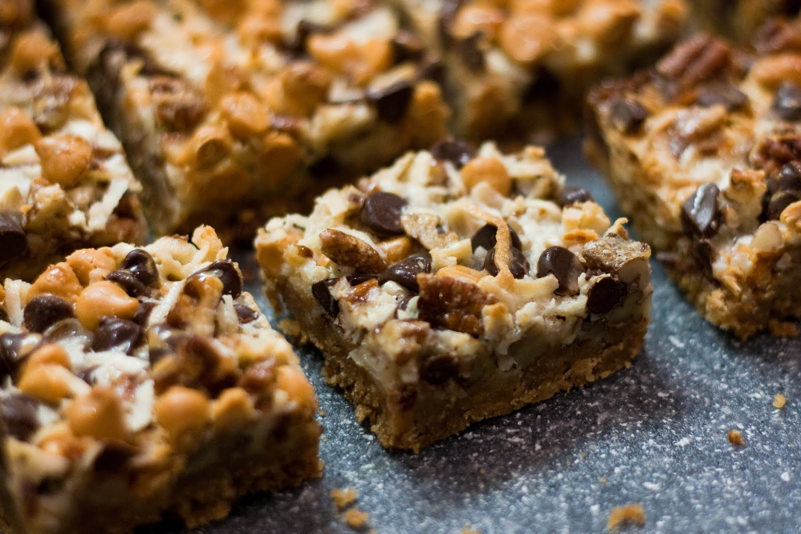 Chocolate Butterscotch Cookie Bars Recipes — Dishmaps